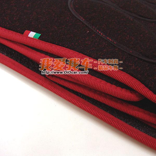 意大利进口 运动款mazda6 马自达6原装位五件套脚垫高清图片
