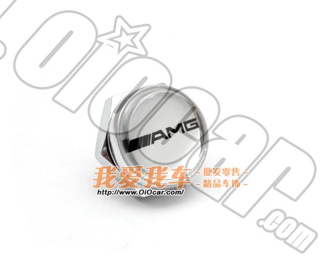 benz奔驰车系专用 御用改装品牌amg标志银色款高级金属牌高清图片